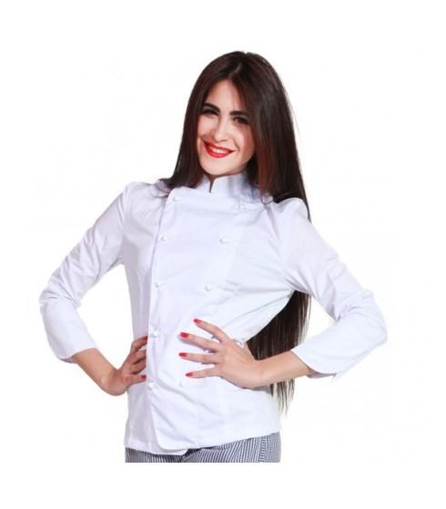 Giacca Chef Donna Bianca
